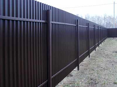 качественный забор в Ростове