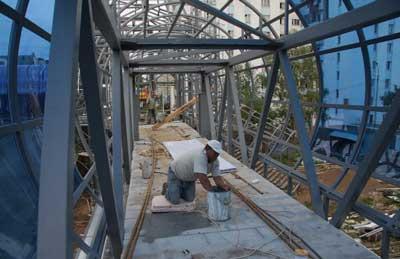 строительство пешеходных галлерей